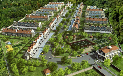 Инфраструктура современных коттеджных поселков