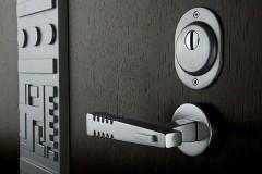 Insulated steel door