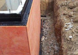 Insulation for foundation