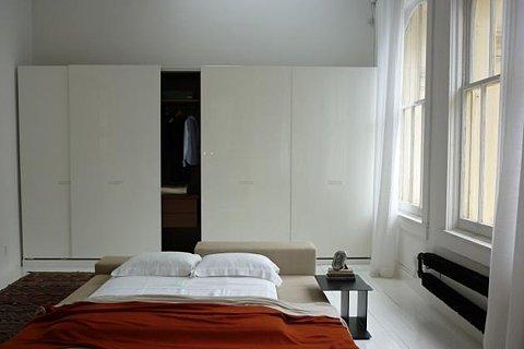 Интерьера спальни в японском стиле