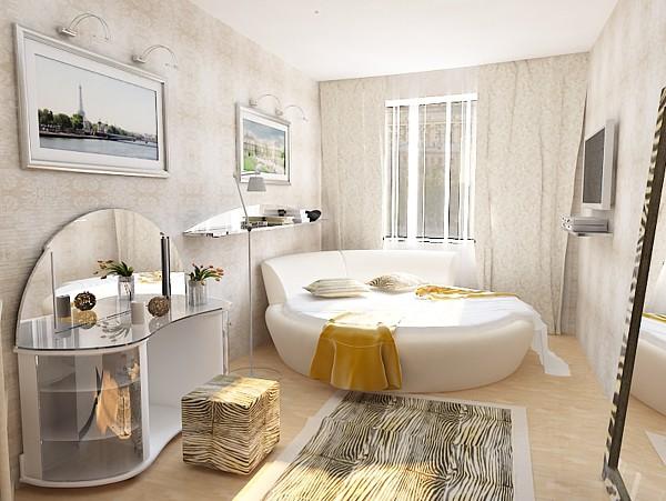 Дизайн интерьера спальни в стиле
