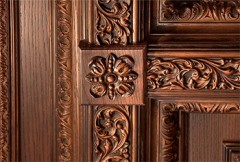 Interior doors of solid alder