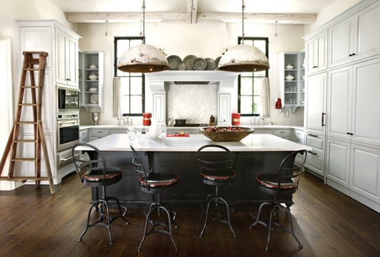 Kitchen in the industrial style