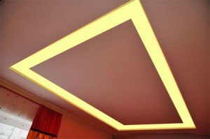 LED strip on the ceiling2