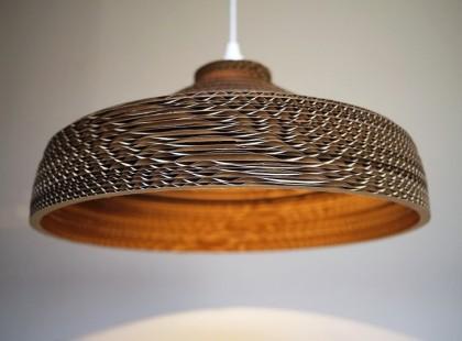 Lamp made