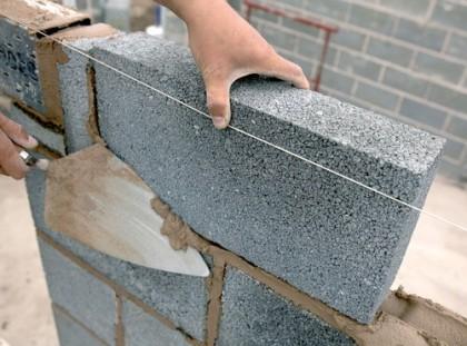 Lightweight aggregate building blocks