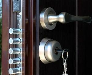 Locks for metal doors