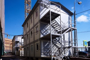 Manufacturing of modular buildings