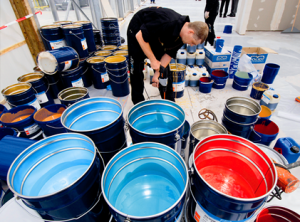 Manufacturing technology of paint