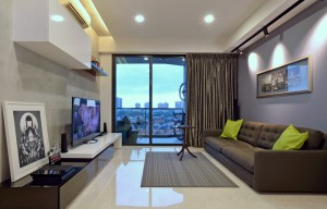 Modern interior design of apartments