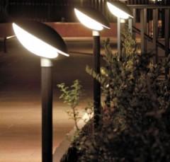 Modern lighting poles