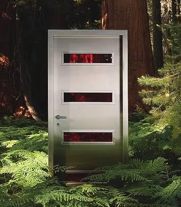 Современные металлические двери
