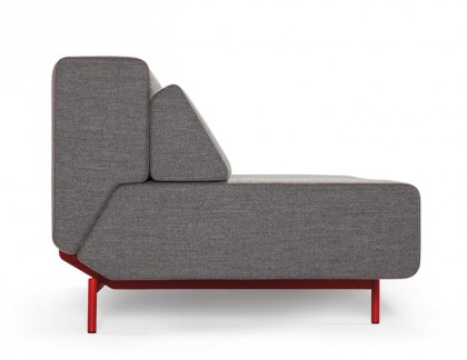 Office sofas without armrests