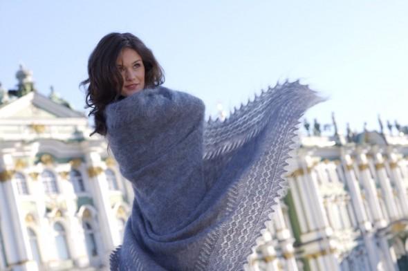 Orenburg shawls