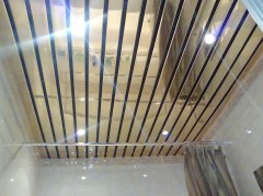 Panel ceiling in the bathroom