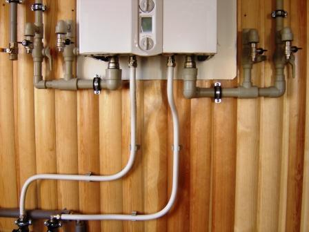 газовые котлы схемы обвязки.