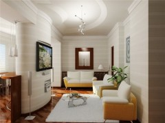 Reconstruct one-bedroom apartment