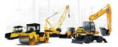 Rental of machinery