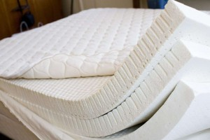 Spring and springless mattresses