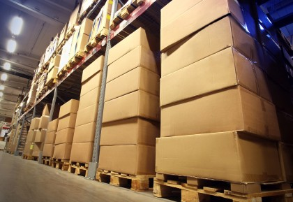 Storage of goods in warehouses