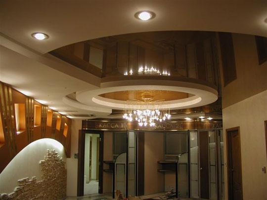 Натяжные потолки дизайн интерьера