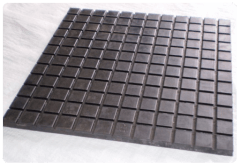 The cast-iron tiles for industrial floors
