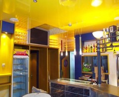 The colors of suspended ceilings for kitchen