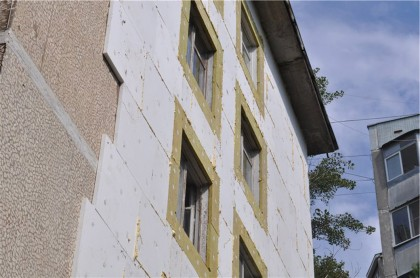 Thermal insulation of facades