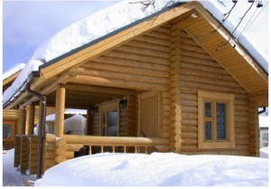 Thermal insulation of wooden houses