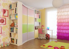 Wardrobe in the nursery