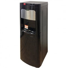 Water cooler with bottom loading