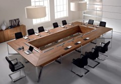 a table for a meeting room