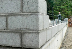 aerated concrete blocks