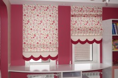 blinds in the nursery