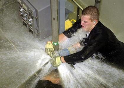 call a plumber home
