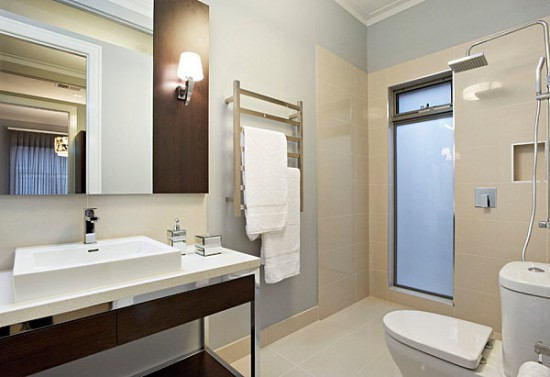 change the design of the bathroom