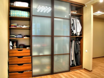 closet in the hallway