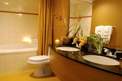 Делаем ванную комнату уютной и практичной