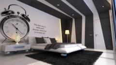 creative design wallpaper for bedroom