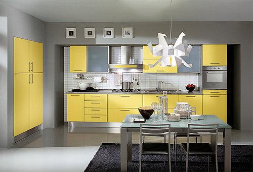 Выбираем цвет мебели для кухни