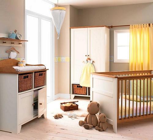 Удачный интерьер детской - залог благоприятного развития ребенка