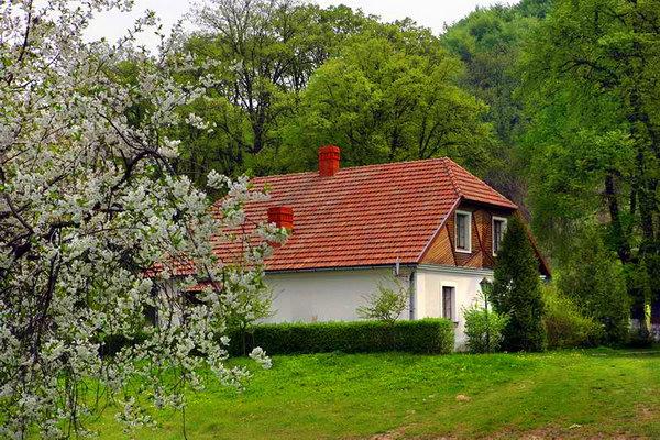 Сельский дом своими руками фото