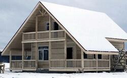 Дома каркасные зимние