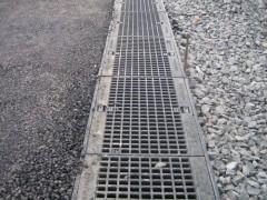 drainage line