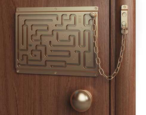 Правильный уход за металлической дверью