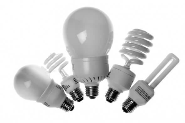 flashing LED lamps