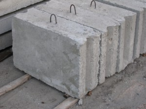 foundation concrete blocks