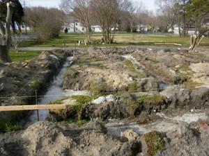 foundation on marshland