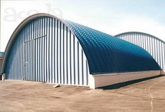 frameless arched structures