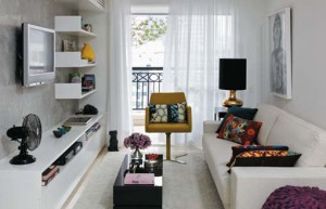 furnish a small apartment inexpensively
